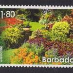 Glendale Gardens stamp, barbados