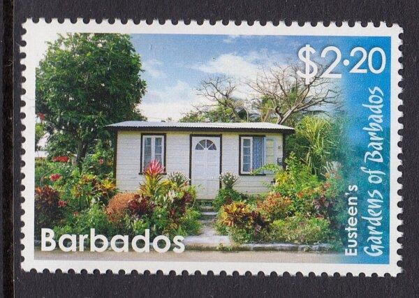 Eusteen's Garden stamp, Barbados