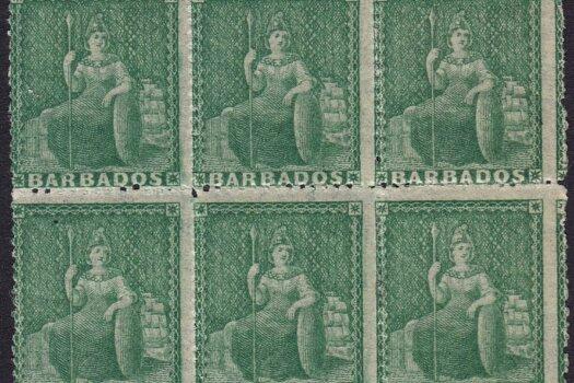 Barbados SG21 block
