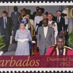 Queen Elizabeth II Diamond Jubilee - 10c - Barbados SG1383