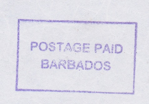 Postage Paid Barbados