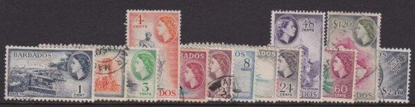 Barbados SG289-301