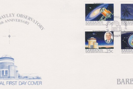 Barbados 1988 Harry Bayley Observatory 25th Anniversary FDC