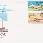 Barbados 1989 50 Years of Commercial Aviation FDC