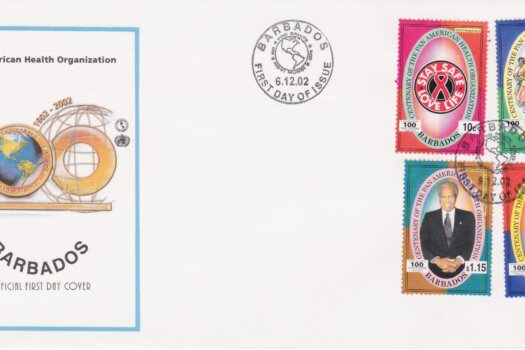 Barbados Pan American Health Organisation FDC