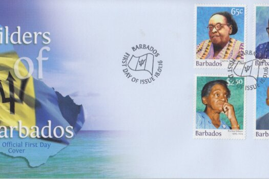 Barbados 2016 Builders of Barbados FDC -2