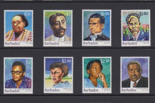 Builders of Barbados definitives 2016 - Barbados Stamps