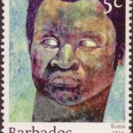 Builders of Barbados Stamps - Bussa 5c - Barbados Stamps