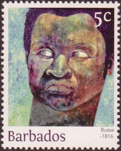 Bussa 5c - Barbados Stamps