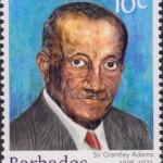 Builders of Barbados - Sir Grantly Adams 10c - Barbados Stamps