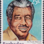Builders of Barbados - Sir Frank Walcott 25c - Barbados Stamps