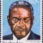 Builders of Barbados - Sir Hugh Springer 60c - Barbados Stamps
