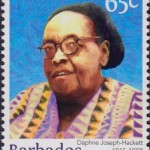 Builders of Barbados - Daphne Joseph-Hackett 65c - Barbados Stamps