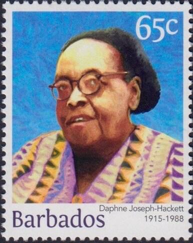 Daphne Joseph-Hackett 65c - Barbados Stamps