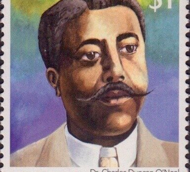 Builders of Barbados - Dr Charles Duncan O'Neal $1 - Barbados Stamps