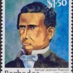Samuel Jackman Prescod $1.50 - Barbados Stamps