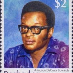 Builders of Barbados - Arlington DaCosta Edwards $2 - Barbados Stamps