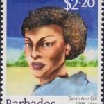 Builders of Barbados - Sarah Ann Gill $2.20 - Barbados Stamps