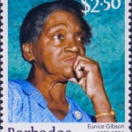 Builders of Barbados - Eunice Gibson $2.50 - Barbados Stamps