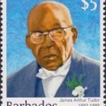 Builders of Barbados - James Arthur Tudor $5 - Barbados Stamps