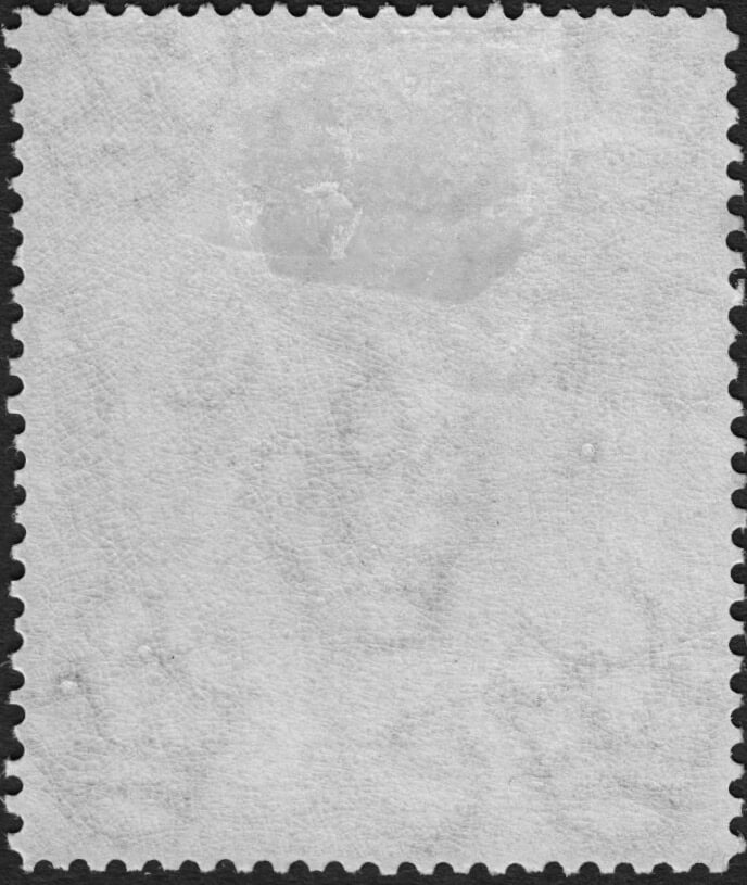 "Barbados SG205 2½d missing ""A"" of ""CA"" Watermark"