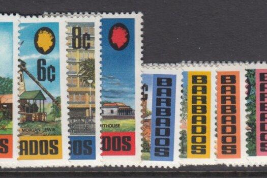 Barbados Landmarks 1970 SG399-414