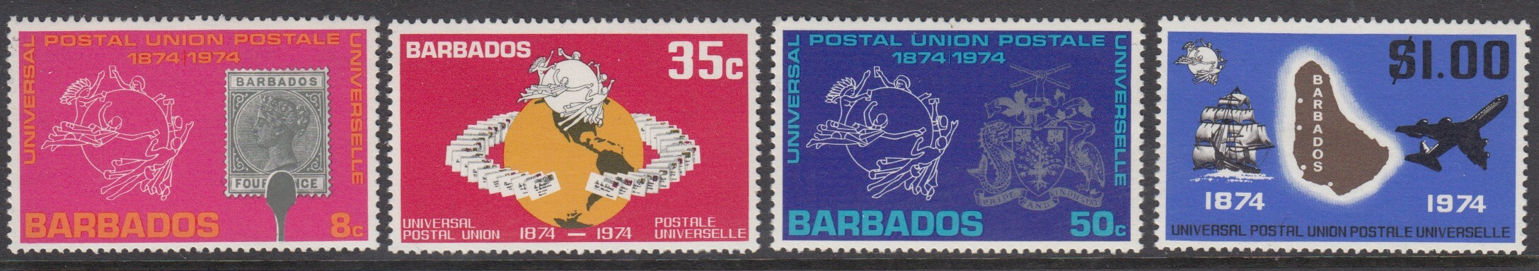 Centenary of Universal Postal Union