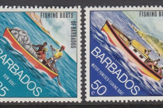 Fishing Boats of Barbados