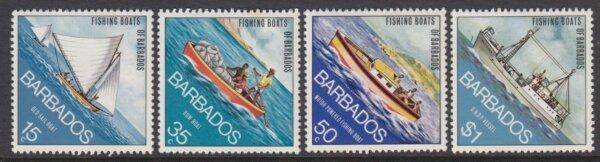 Fishing Boats of Barbados