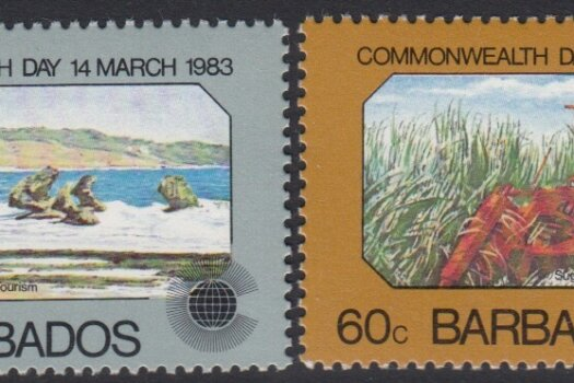 Barbados SG 722-725 | Commonwealth Day