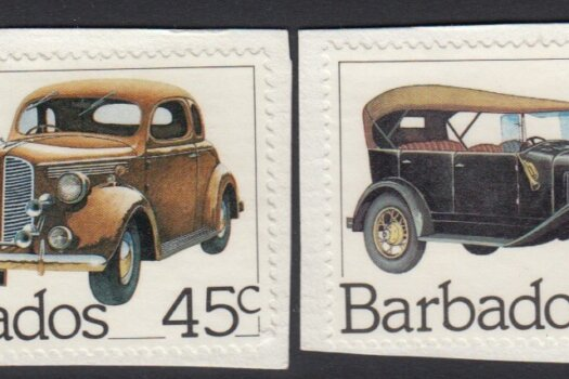 Barbados SG 730-733 | Classic Cars