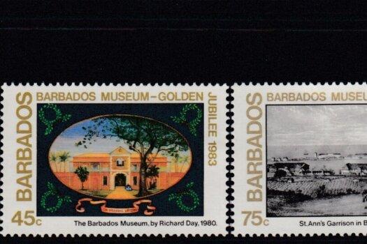 Barbados SG 737-741 | Christmas 50th Anniversary of the Barbados Museum