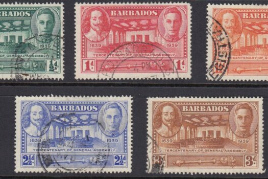 Barbados SG257-261 | Tercentenary of General Assembly