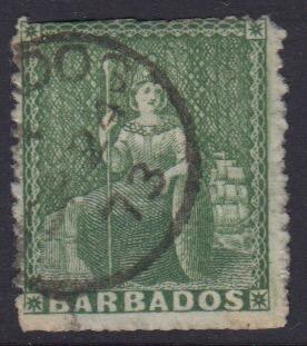 Barbados SG43 | 1/2d Green