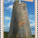 Windmills of Barbados - Barbados SG1431 | Graeme Hall Windmill 10c stamp