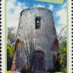 Windmills of Barbados - Barbados SG1432 | Balls Windmill 65c stamp