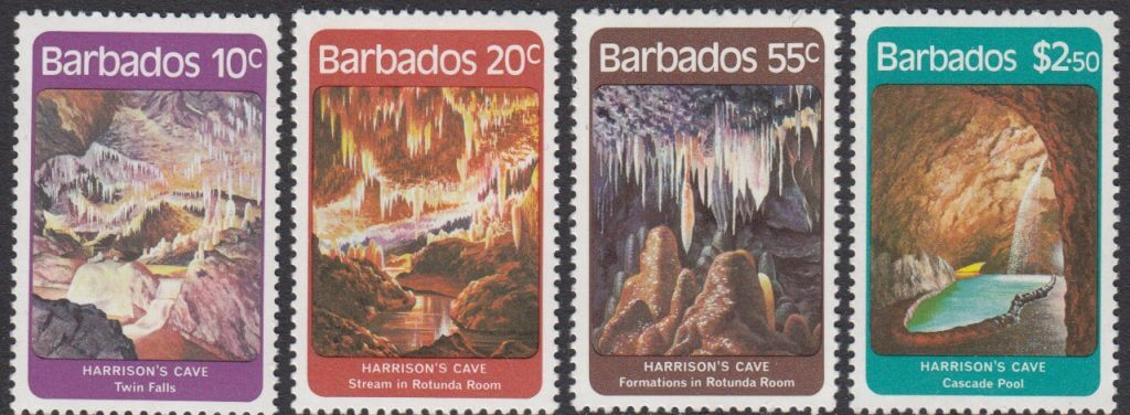 Barbados SG689-692 | Harrisons Cave