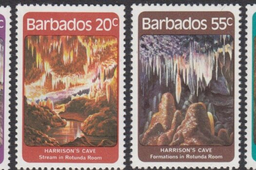 Barbados SG689-692 | Harrisons Cave