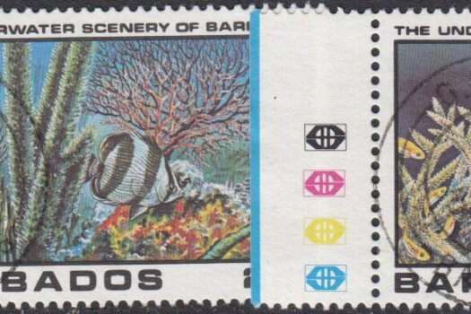 Barbados SG660-663 | Underwater Scenery