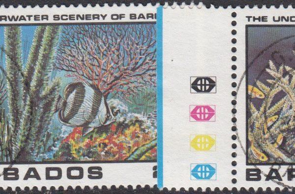 Barbados SG660-663 | Underwater Scenery