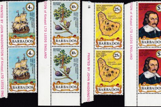 Barbados 538-541 | 350th Anniversary of First Settlement