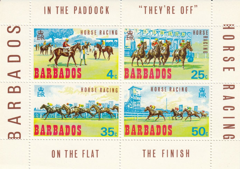 Barbados SGMS385 | Horse Racing