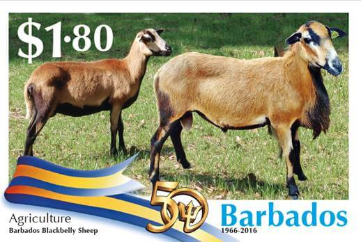 Barbados Stamps 50th Anniversary of Independence $1.80 stamp - Agriculture