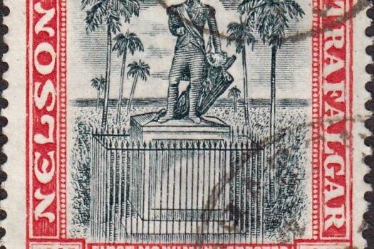Barbados SG151 | Nelson Centenary 1/-