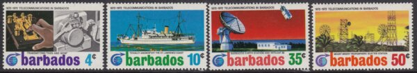Barbados SG440-443 | Cable Link Centenary