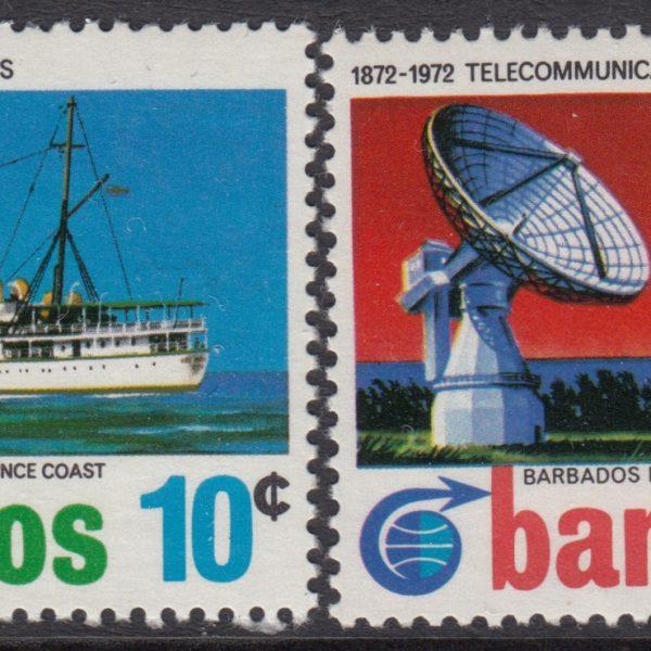 Barbados SG440-443   Cable Link Centenary