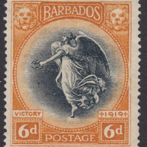 Barbados SG208 | Victory 4d