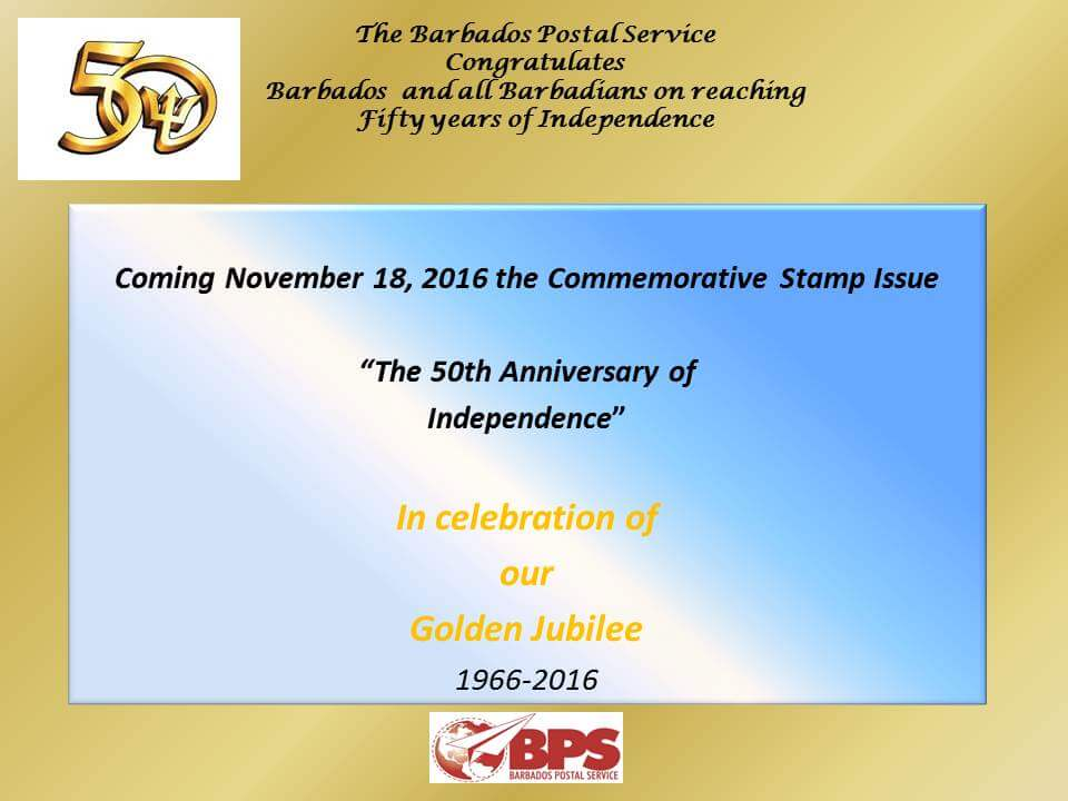 the-50th-anniversary-of- Barbados-independence-poster
