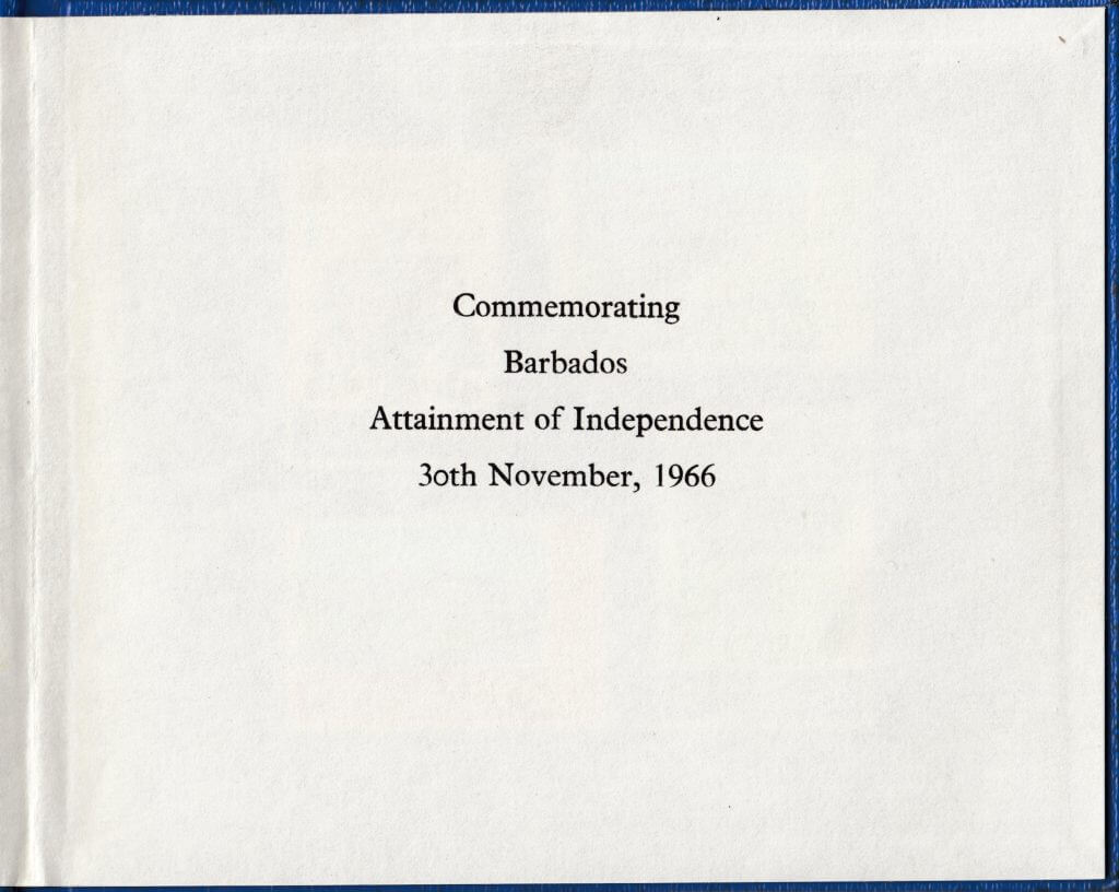 Barbados Stamps - Independence 1966 Commemoration Stamp Booklet