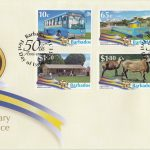 Barbados 50th Anniversary of Independence First Day Cover